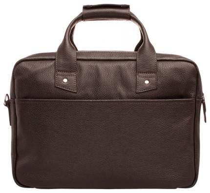 Портфель мужской кожаный Lakestone Kelston коричневый