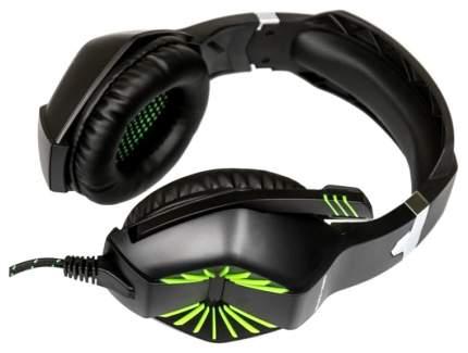 Игровые наушники Dialog HGK-28L Green/Black