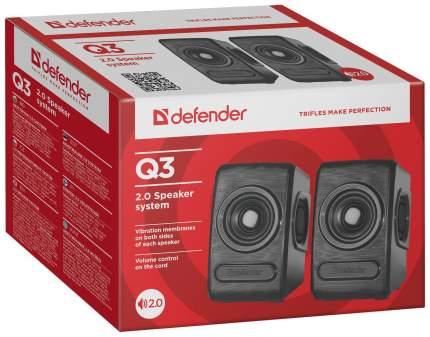 Колонки 2.0 Defender Q3 Черные