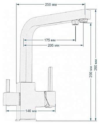 Смеситель для кухонной мойки Seaman Barcelone SSL-5391 Water 470624 water