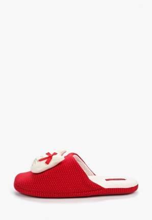 Домашние тапочки женские Halluci Кошечки красные 40-41 RU