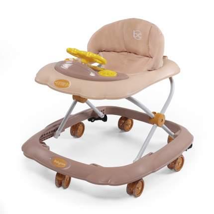 Ходунки Baby Care Optima коричневые