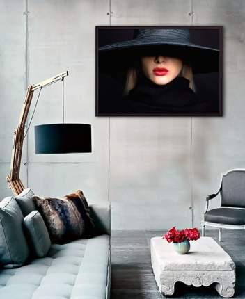 Постер в рамке Красная помада 30 х 40 см Дом Корлеоне