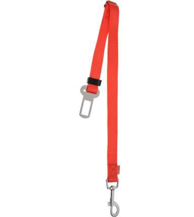 Ремень безопасности для собак V.I.Pet, автомобильный, красный, 43-70 см х 25 мм