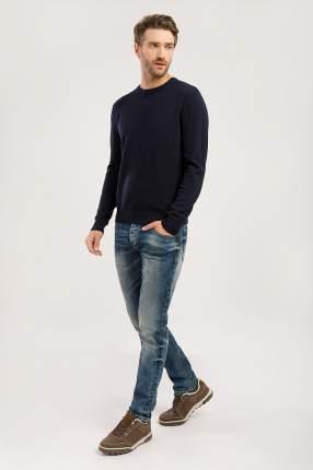 Джемпер мужской Finn Flare W19-21109 синий L