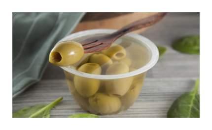 Оливки ВкусВилл зеленые без косточки 120 г