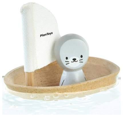 """Игрушка для ванны """"Лодка и тюлень"""""""