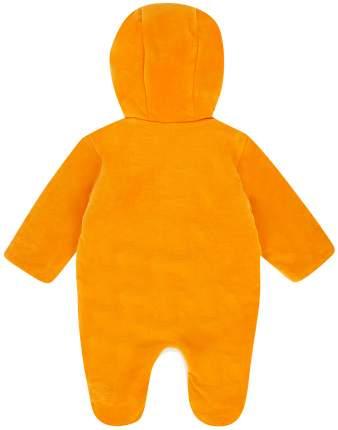 Комбинезон ЛЕО Лиса оранжевый, размер 74