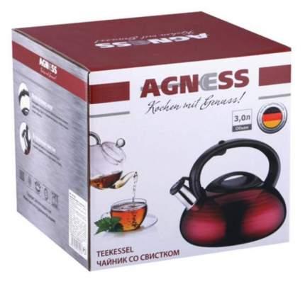 Чайник для плиты Agness 907-053