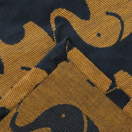 Покрывало-плед детское Этелька Слоники размер 150х215 см, хлопок, цвет синий