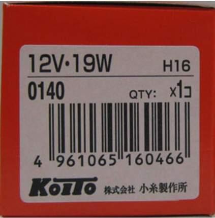 Лампа Головного Света Koito Koito арт. 0140K
