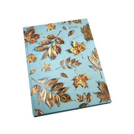 Книга для записей Listoff Золотые листья А4 120 л