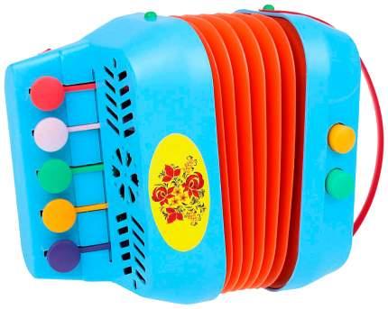 Детский музыкальный инструмент ТулИгрушка Гармонь меховая