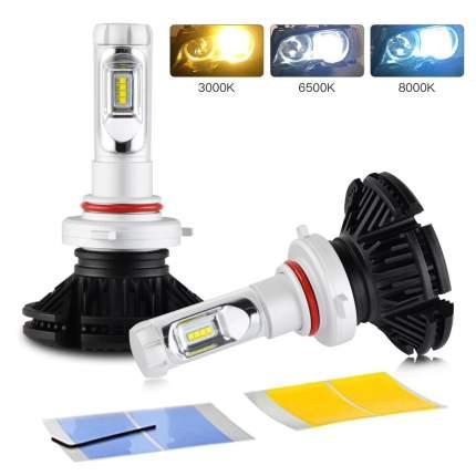 Светодиодные лампы X3 LED Headlight HB3 9005 Lumileds ZES 2G 9-32V 50W 6000Lm