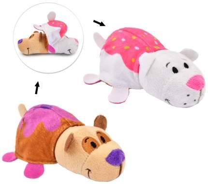 Игрушка-вывернушка 1 Toy Ням-Ням Панда-Кошечка с ароматом Черничные оладьи-Пирожное 12 см