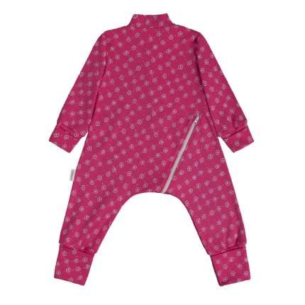 Комбинезон-пижама Bambinizon Цветочный луг ЛКМ-БК-ЦЛ р.68