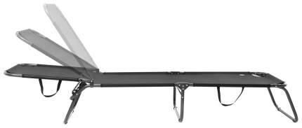 Туристическая раскладушка Go Garden Camper XL 50300 черная