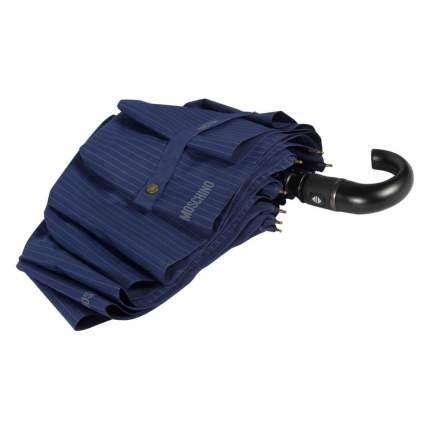 Зонт-автомат Moschino 8509-ToplessF Pinstripes Blue