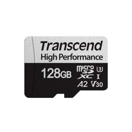 Карта памяти Transcend Micro SDXC High Performance 128GB