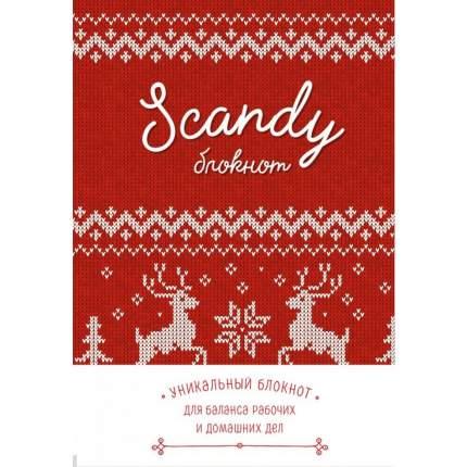 Scandy блокнот для идеального баланса рабочих и домашних дел (красный)