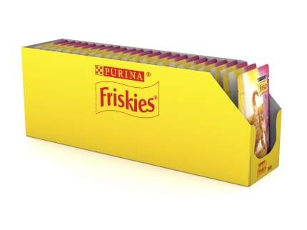 Влажный корм для котят Friskies, кусочки в подливе с курицей, 20шт по 100г