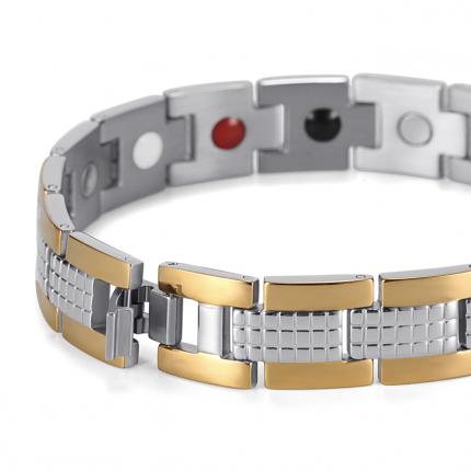 Магнитный браслет Luxor Shop Золотой Джин