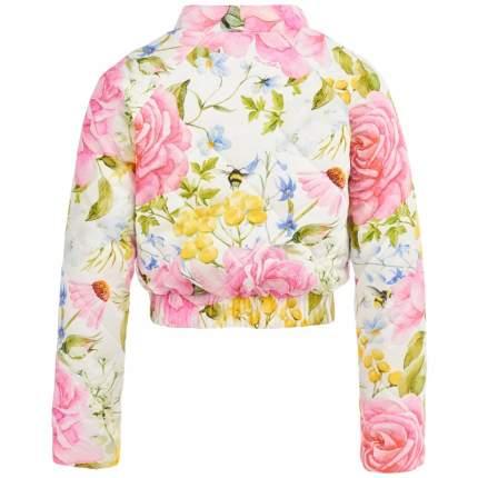 Бомбер Королевские розы Piccino Bellino Розовый р.128