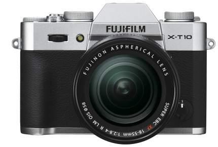 Фотоаппарат системный Fujifilm X-T10 18-55 Kit Silver