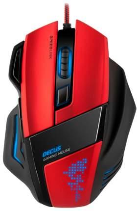 Проводная мышка SPEED-LINK Decus Red/Black (SL-6397-BK)