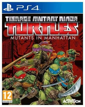 Игра Teenage Mutant Ninja Turtles: Mutants in Manhattan для PlayStation 4