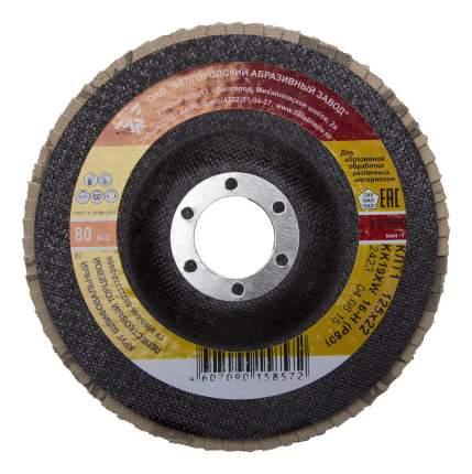 Диск лепестковый для угловых шлифмашин БАЗ 36563-125-80