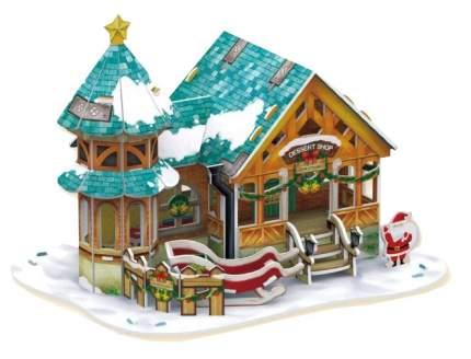 Пазл Cubic Fun 3D P649h Рождественский домик 3 (с подсветкой)