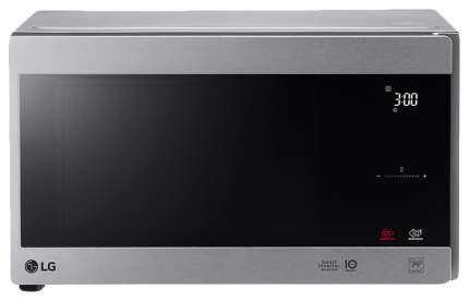 Микроволновая печь соло LG MS2595CIS silver/black