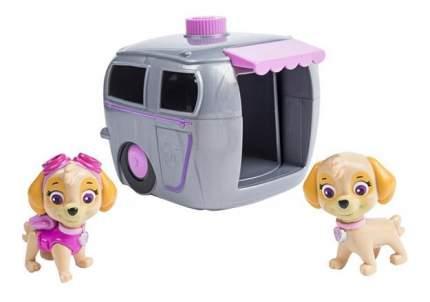 Paw patrol 16660-sky щенячий патруль игровой набор два щенка в домике