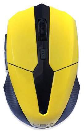 Беспроводная мышка CBR СM 547 Yellow/Black