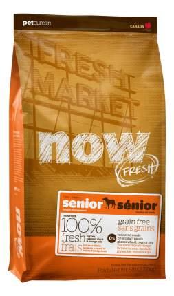 Сухой корм для собак NOW Fresh Senior, контроль веса, индейка, утка, овощи, 11,35кг