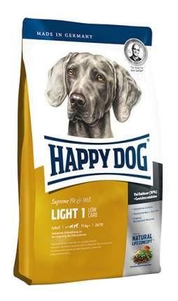Сухой корм для собак Happy Dog Supreme Fit & Well Light 1, лосось, ягненок, яйца, 4кг