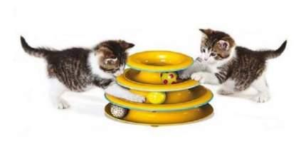 Трек для кошек Petstages, пластик, 25x25x20 см