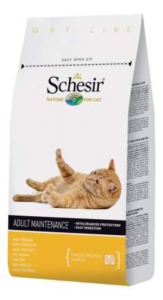 Сухой корм для кошек Schesir Adult, курица, 1,5кг