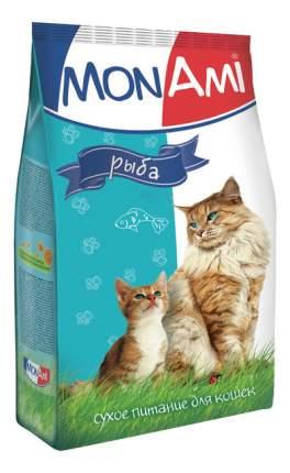 Сухой корм для кошек MonAmi, рыба, 10кг
