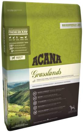 Сухой корм для собак ACANA Regionals Grasslands, ягненок, 6кг