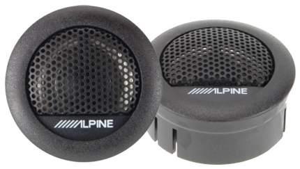 Автоакустика Alpine SXE-1006TW 280Вт 88дБ 4Ом (ком.2кол.) твитер черный