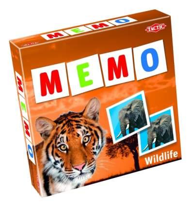 Семейная настольная игра Tactic games Дикие животные 2