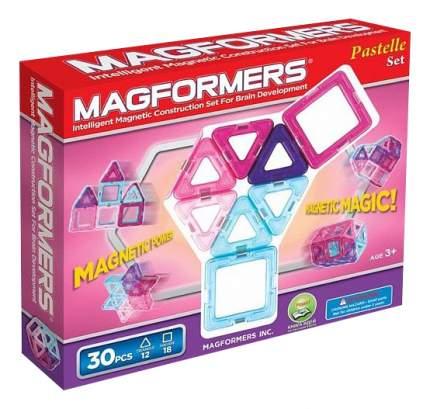 Конструктор Magformers Магнитный 30 деталей Pastelle