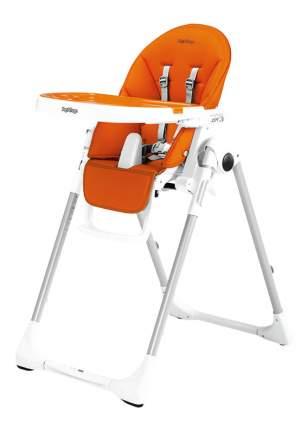 Стульчик Для Кормления Peg Perego Prima Pappa Zero-3 Arancia (Оранжевый/кожзам)