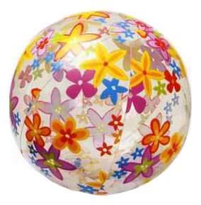 Мячик надувной INTEX Lively Print Balls 51 см
