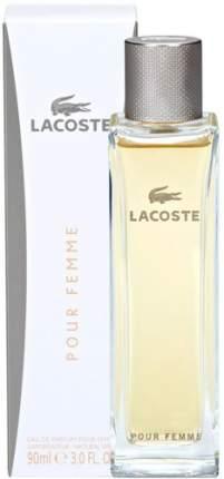 Туалетные духи-спрей LACOSTE Pour Femme 90 мл