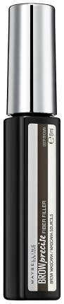 Тушь для бровей Maybelline New York Brow Precise Fiber Filler 06 Темно-коричневый