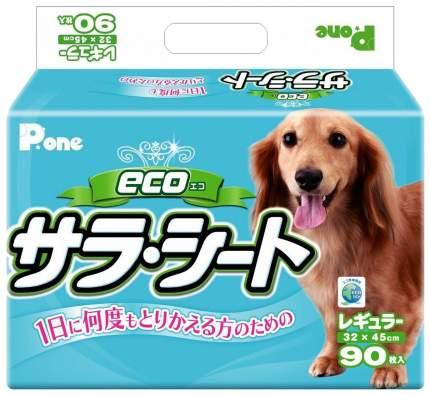 Пеленки для домашних животных Daiichi Eizai P.one 3-х слойные 32х45 см 90 шт