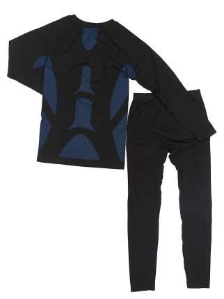 Термобелье Bradex комплект, черный/синий, M INT